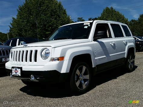 jeep patriot 2017 high altitude 2016 bright white jeep patriot high altitude 4x4