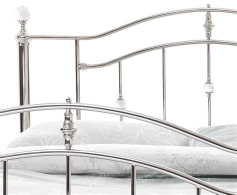ashley bed frame ashley nickel metal bed frame frances hunt