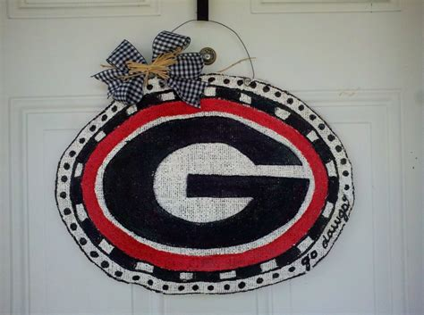 georgia bulldog home decor georgia bulldog crafts