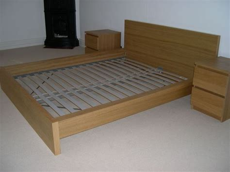 ikea malm bed king size ikea king size malm bed frame in gabalfa cardiff gumtree