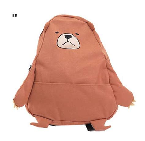 Adorable Backpacks By Barecreations by 3 Style We Bare Bears Anime Bag Grizzly Panda