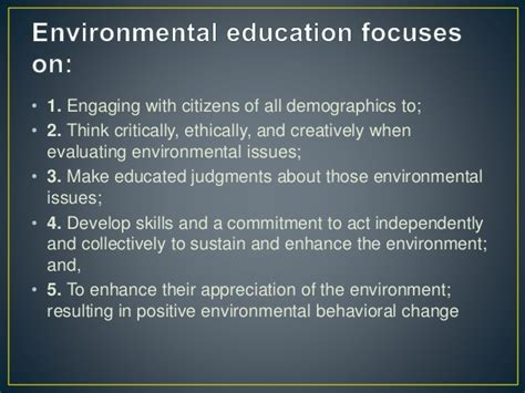 thesis about environmental education essay on environmental education environment preservation