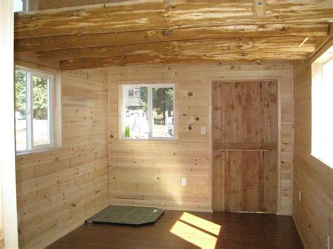 rough cut sheds barn style