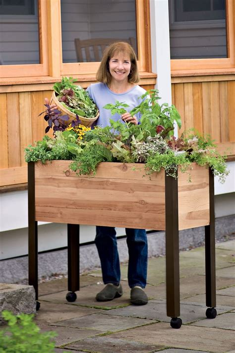 Planter On Legs by 1000 Ideas About Garden Beds On Raised