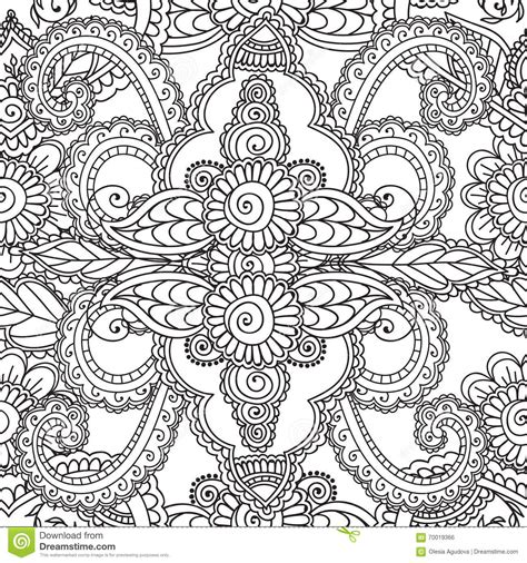 coloring pages for adults vector coloring pages for adults seamles henna mehndi doodles