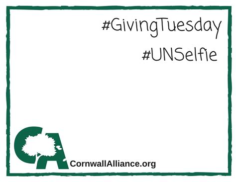 Unselfie Giving Tuesday Template Unselfie Template For Givingtuesday