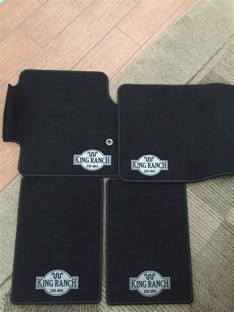 King Ranch Floor Mats by 2008 2010 Ford Expedition King Ranch Floor Mats Bloodydecks