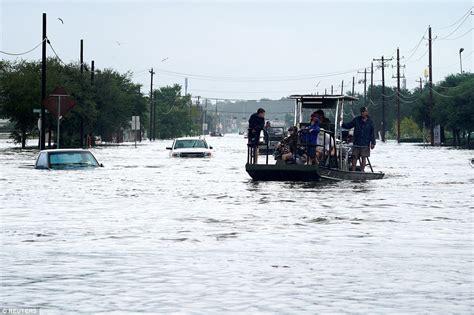 boat launch kemah tx five feared dead in hurricane harvey as floods sweep texas