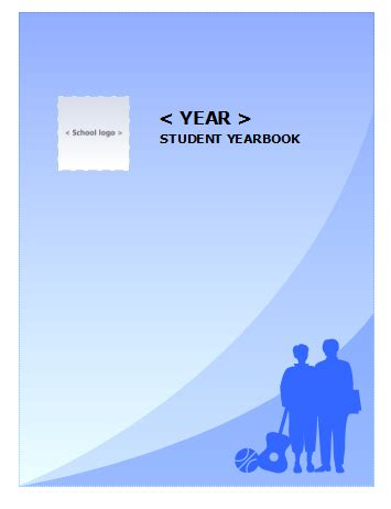 yearbook templates for word yearbook template free word templates