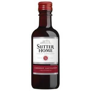 sutter home mini bottles sutter home cabernet sauvignon 187 ml walmart