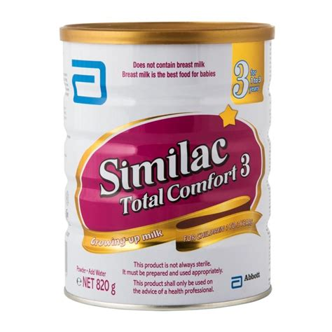 Similac Total Comfort by Similac Total Comfort 3 Formula 820g Woolworths Co Za