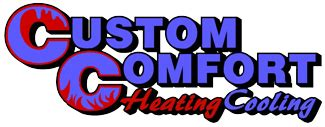 custom comfort heating and air heating cooling furnace air conditioning installation