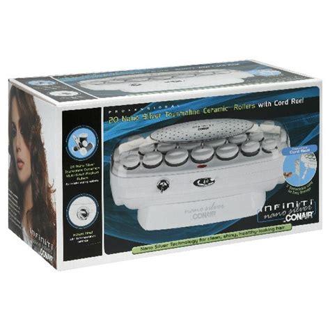 Conair Hair Dryer Nano Silver conair infiniti tourmaline ceramic rollers with cord reel