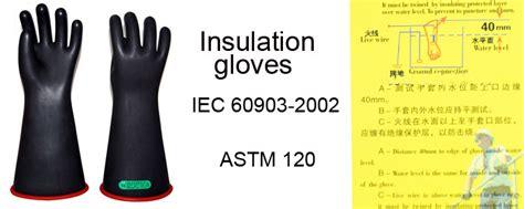 high voltage glove testing companies huazheng high voltage electric safety insulating gloves