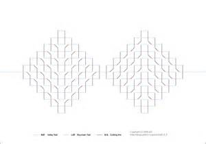 architectural origami templates origamic architecture free patterns 171 embroidery origami
