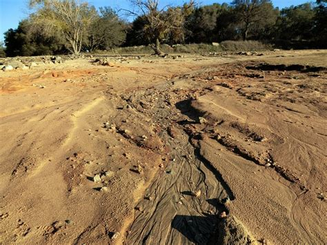 sand beach erosion rivulet landscape public domain pictures free pictures