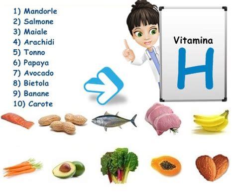 alimenti con vitamina h vitamina b8 vitamina h biotina vitamine proteine