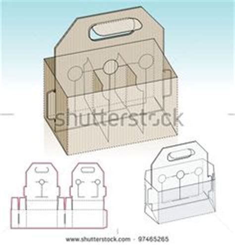 4 pack carrier template 4 pack carrier template with auto bottom packaging