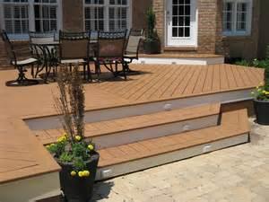 composite patio composite deck composite deck sealing