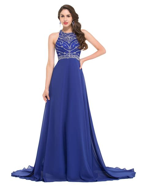Xaira Dress C Blue royal blue evening dress csmevents
