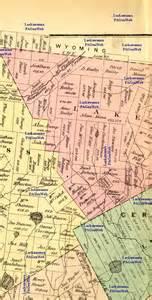 map of luzerne county pa 1873 luzerne county maps