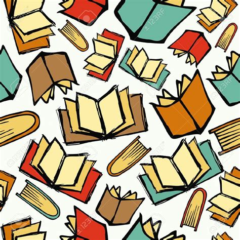 pattern library sle background clipart book pencil and in color background