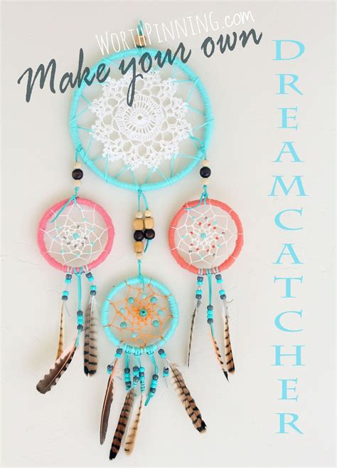 How To Make A Paper Dreamcatcher - worth pinning how to make a dreamcatcher