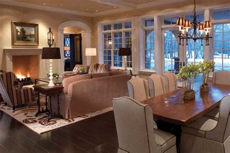 luxury living dining room combo kitchen family rooms