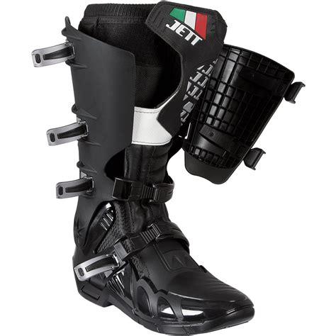 jett motocross boots bota motocross trilha enduro jett preta e branca r