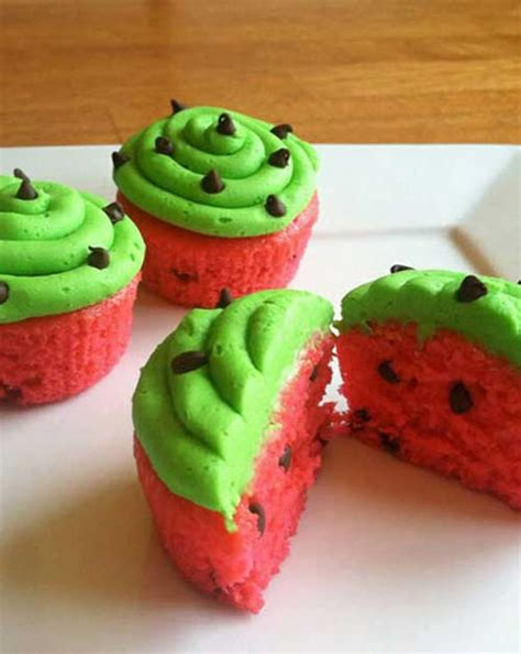 Sw Watermelon Gf watermelon cupcakes flavorite