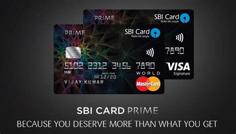 Credit Card Form Of Sbi sbi card launches prime credit card review cardexpert
