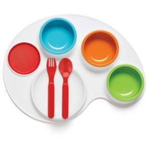 Baby Safe Feeding Plate With Skid Base product review skip hop palette plate feeding set 187 daft