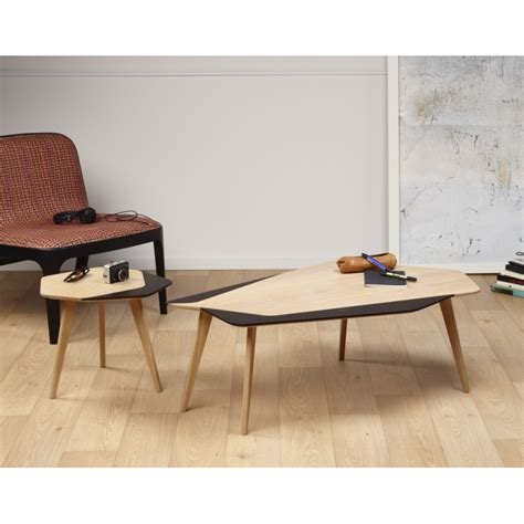 table basse design 233 l 233 gante personnalisable en bois made