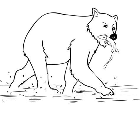 bubba bear coloring page young brown bear coloring page super coloring