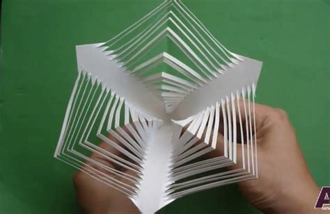3d Folding Paper - free coloring pages 07 3d kirigami flower tutorial paper