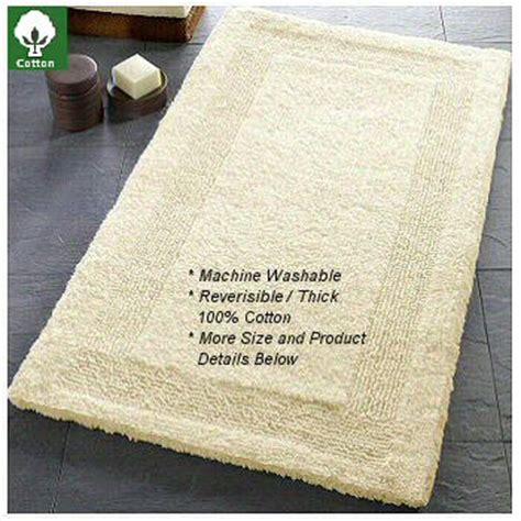 Kirkland Signature Luxury Spa Bath Rug Reversible Cotton Bath Rugs Rugs Ideas