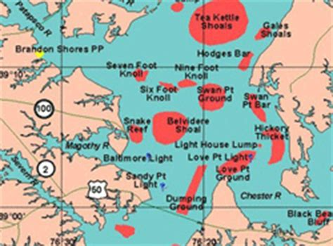 maryland fishing map maryland family tournament and corporate charter fishing