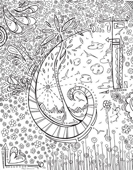 whimsical designs coloring pages whimsical free coloring page download for adults paper