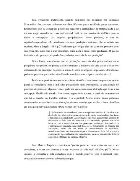 Contribuições do marxismo para a atividade de pesquisa da