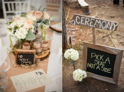 37 stylish country wedding table decorations table