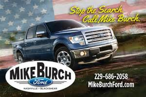 Mike Burch Ford Mike Burch Ford Nashville Ga 31639 Car Dealership And