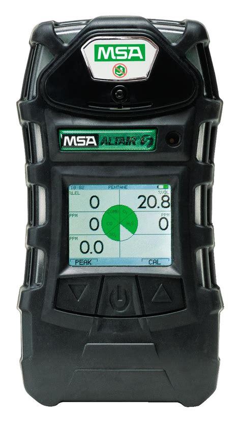 Multi Gas Detector Msa msa altair 5 5 gas lel o2 co h2s co2 mono detector