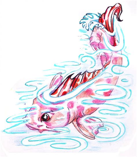 pond tattoo designs the koi pond by inkydinkywho on deviantart