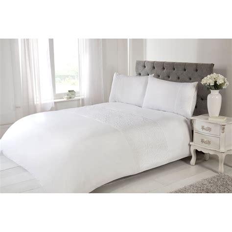 h and m bedding silentnight rosie double duvet cover white bedding b m