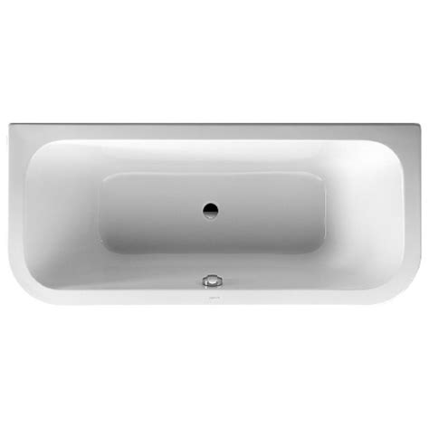 duravit happy d bathtub duravit duravit happy d bath tub back to wall