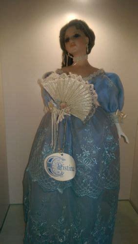 san francisco  box  porcelain dolls christina