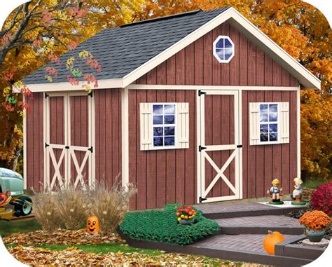 fairview  wood storage shed kit