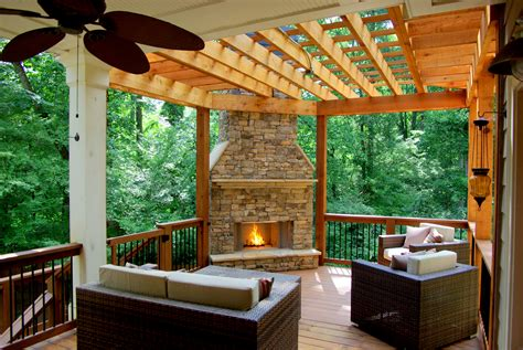 majestic outdoor fireplace home design inspirations
