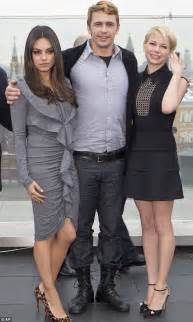 My S Type Boyfriend One New Segel williams poses with mila kunis at oz photocall as