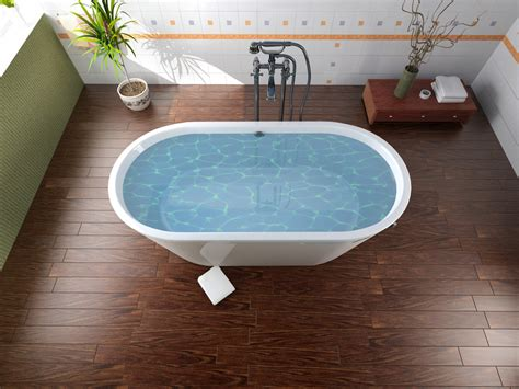 wood flooring in the bathroom is wood flooring in the bathroom a good idea coswick